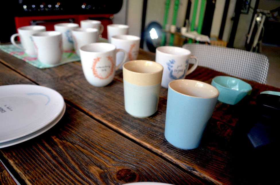 GDEL & friends - kubki Bloomingville, porcelana KALVA