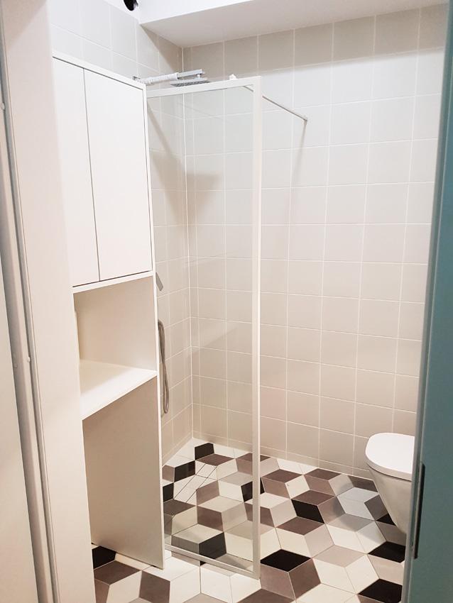 gdel - prysznic loftowy