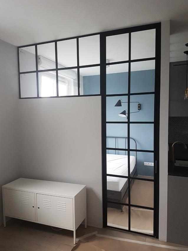 gdel - drzwi i okna szkło w metalowych ramach