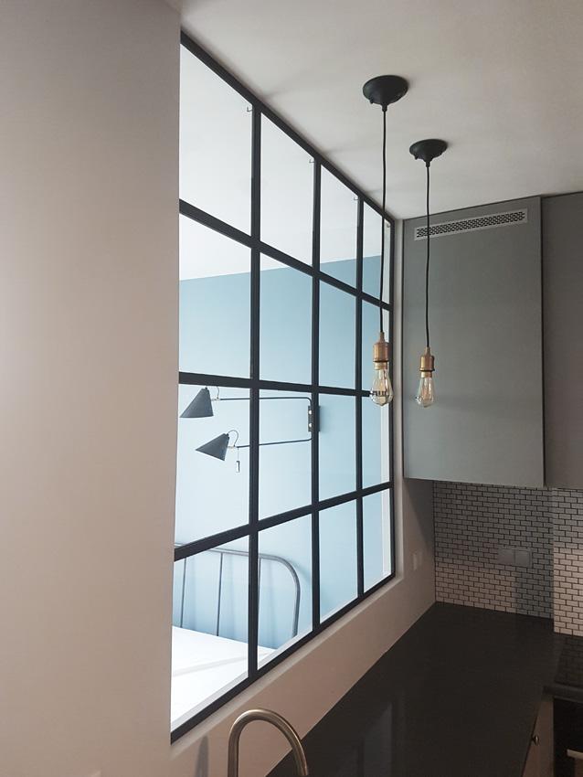 gdel - okno metalowe ze szkłem