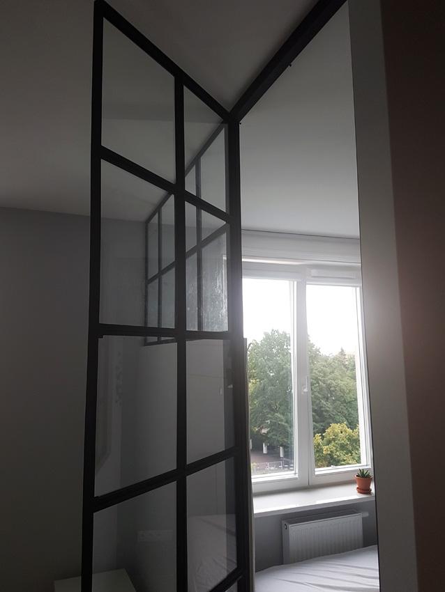 gdel - drzwi metalowe ze szkłem